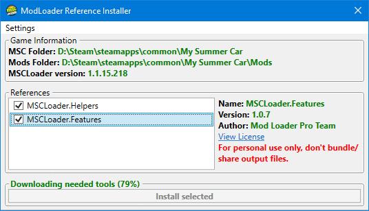 Мод Инструмент на совместимость с ModLoader (ModLoader Compatibility References Tool)