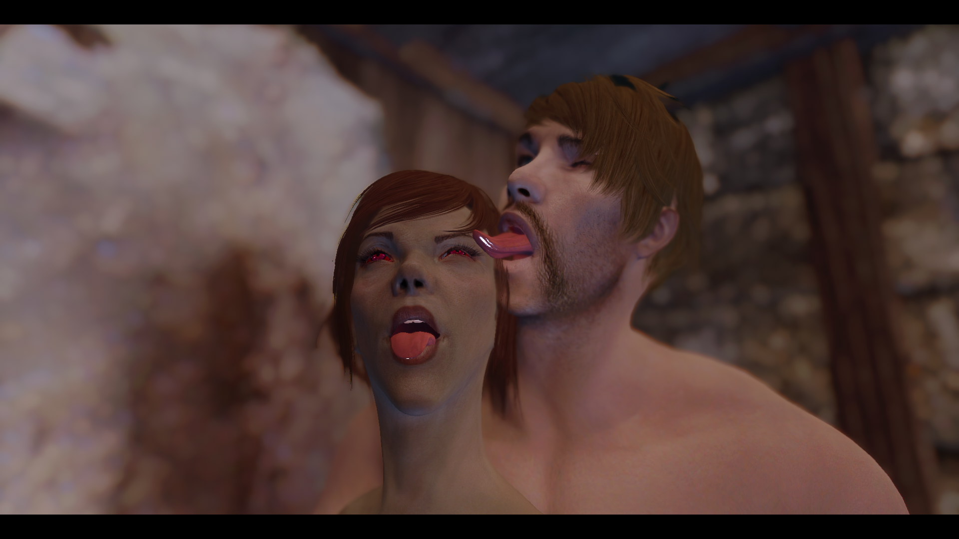 HDT Ahegao Tongues and Expressions for SexLab 1.3.1 LE